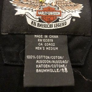 Men's Harley Davidson short sleeve